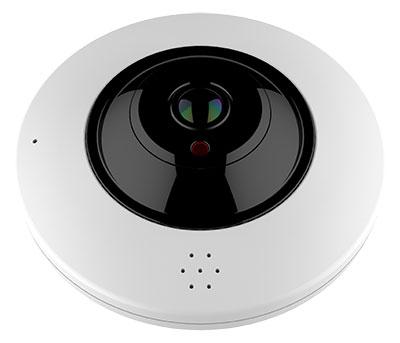 360°-Überwachungskamera mit 6 Megapixel-Videoauflösung