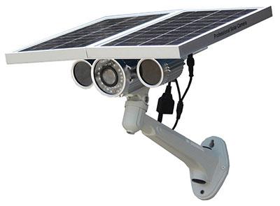 Solarkamera mit Datenübertragung per LTE