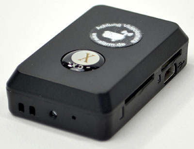 Sehr kleine MMS-Kamera mit Speicherfunktion
