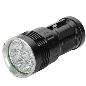 Professionelle LED-Taschenlampe mit Stoboskop-Funktion zur effektiven Selbstverteidigung
