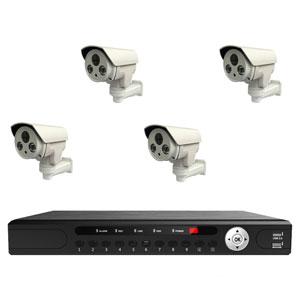 4MP POE PTZ Überwachungskameraset