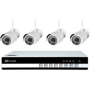 4 Kanal WLAN Videoüberwachungsset