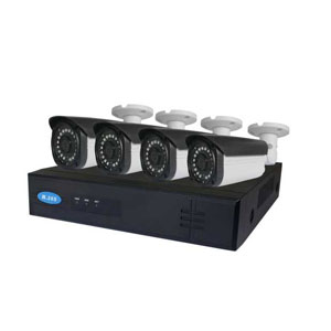4 MP POE Überwachungsset