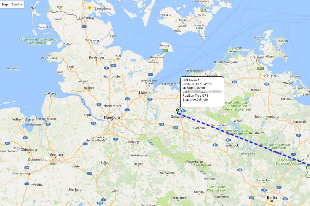 Flottenmanagement GPS Ortung