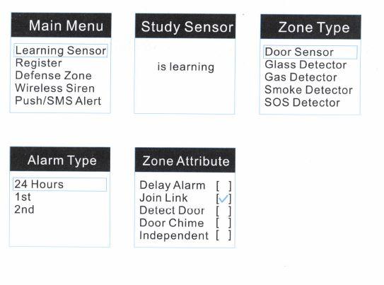 Sensor anlernen