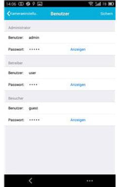 benutzer-einstellungen