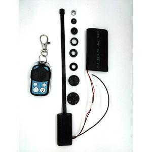 Minikamera mit Knopf- und Schraubenaufsatz