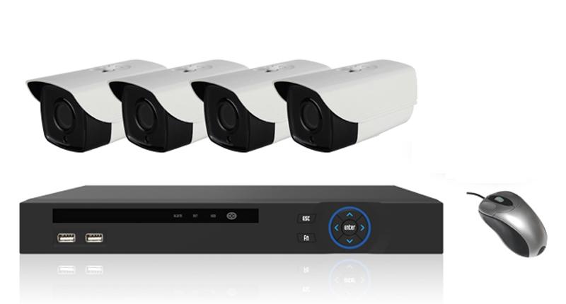 Powerlan Videoüberwachungsset
