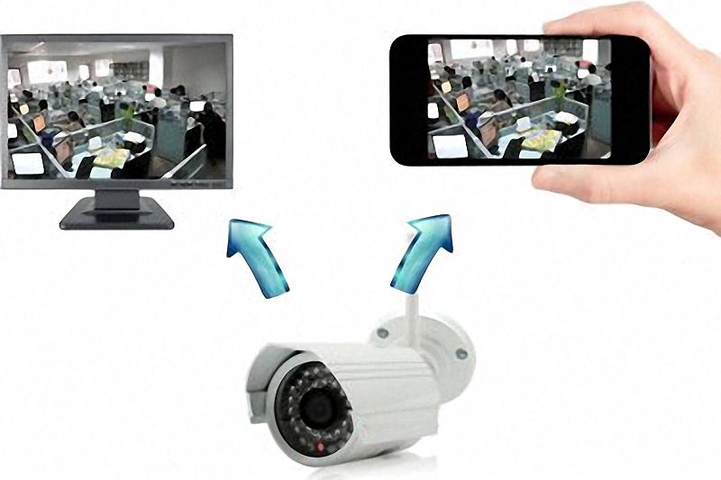 IP Kamera mit Übertragung auf PC und Smartphone