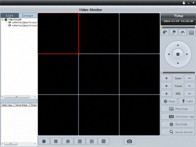 CMS Video Software IP Kamera