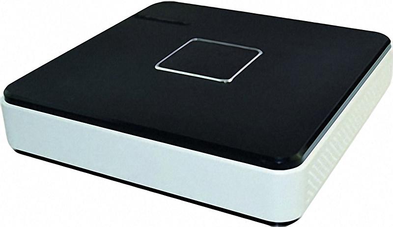 4 Kanal NVR / Netzwerk-Rekorder für 4 HD-IP-Kameras