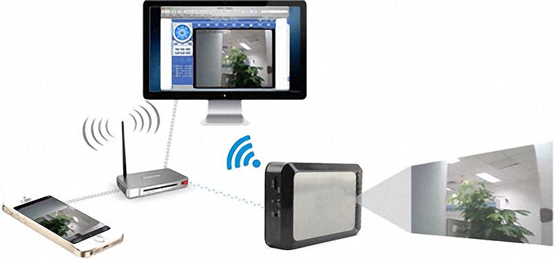 Übertragung der IP-Kamera an Smartphone und PC