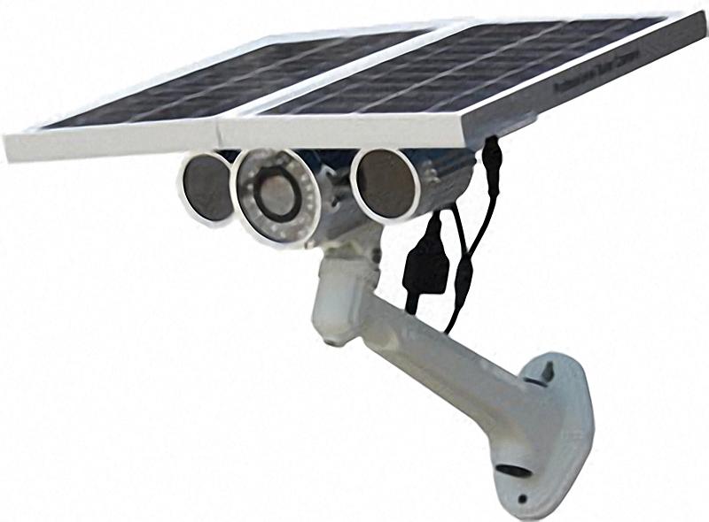 4G LTE Überwachungskamera mit Solarzelle und Akku
