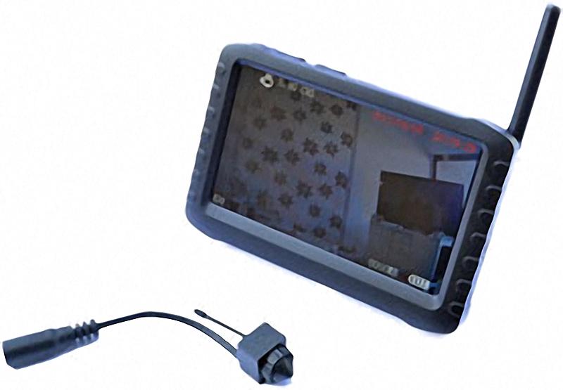 5,8 GHz Mini Funk Kamera mit DVR / Digital Video Rekorder mit Funk Mini Überwachungskamera im Set