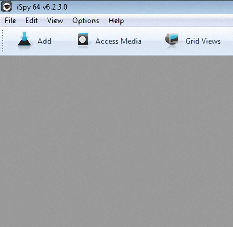 Screenshot iSpy Videoüberwachungssoftware