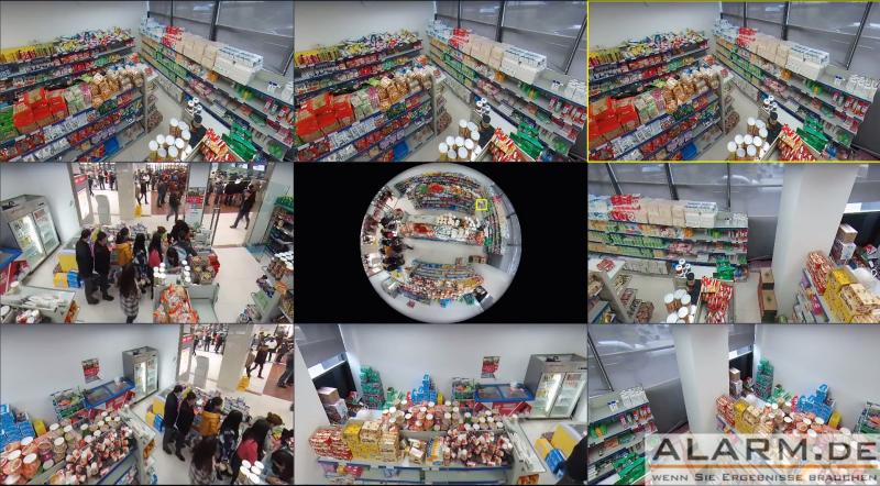 360-Grad-IP-Überwachungskamera