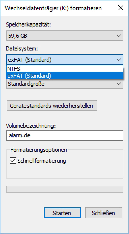 sd karte formatieren fat32 Speicherkarten richtig in FAT32 formatieren | online günstig kaufen