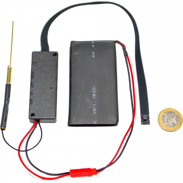Mini WLAN IP Kamera mit Bewegungserkennung und Speicher auf MicroSD
