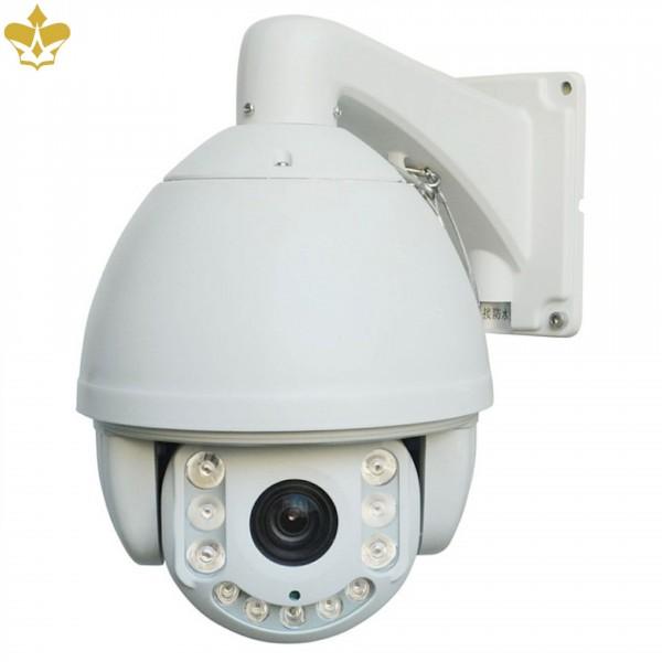 4 MP PTZ-IP-Kamera mit Schwenken, Neigen, 20-fach optischem Zoom und hoher Nachtsichtreichweite