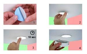 Halterungsystem mit Magneten, einfaches Abnehmen und Anbringen dank leistungsstarkem Acrylschaum