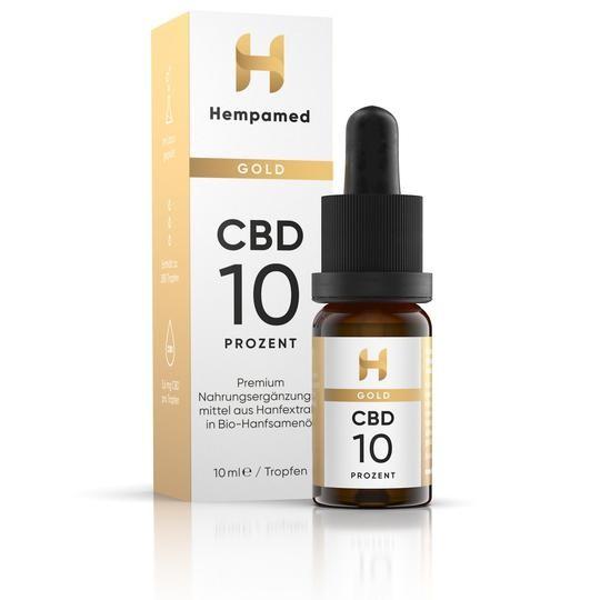 Hempamed Gold CBD Öl 10%
