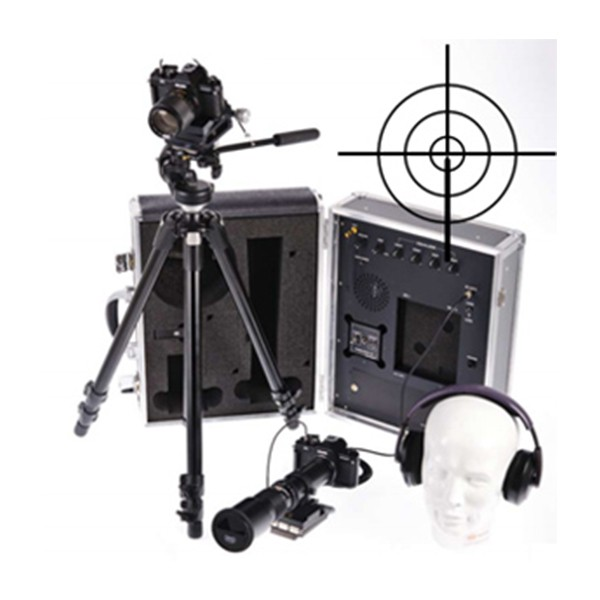 Lasermikrofon / Laser Abhöranlage / Laser Monitoring mit Infrarot Stethoskop