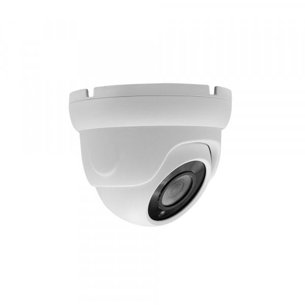 4K UHD Dome Kamera mit Nachtsicht und wetterfestem Gehäuse