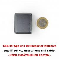 Mini GPS Tracker - Sehr kleiner GPS Sender mit GEO-Zaun und SMS