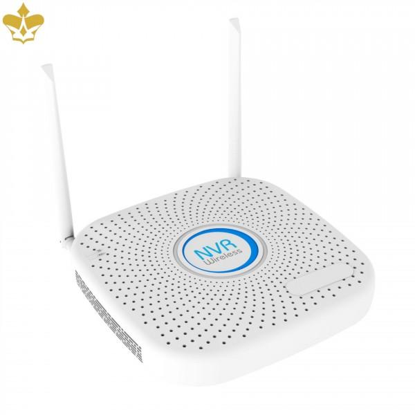 9 Kanal WLAN Netzwerk-Rekorder für bis zu 9 WLAN-Kameras mit Zugriff per Smartphone, Tablet und PC
