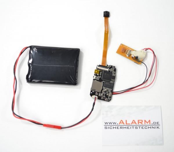 Tarnbare Full HD Minikamera mit Fernbedienung als kleine Überwachungskamera mit Bewegungserkennung