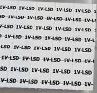 1V-LSD (legales LSD-Derivat) Valerie LSD 150 µg Blotter Pappen Tabs für Forschungszwecke Forensik