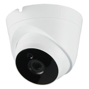 4 MP Domekamera mit Nachtsicht und Bewegungserkennung als Dome-IP-Überwachungskamera