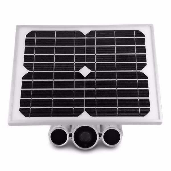 Outdoor WLAN Überwachungskamera mit Solarzelle und Akku für einen weltweiten Zugriff