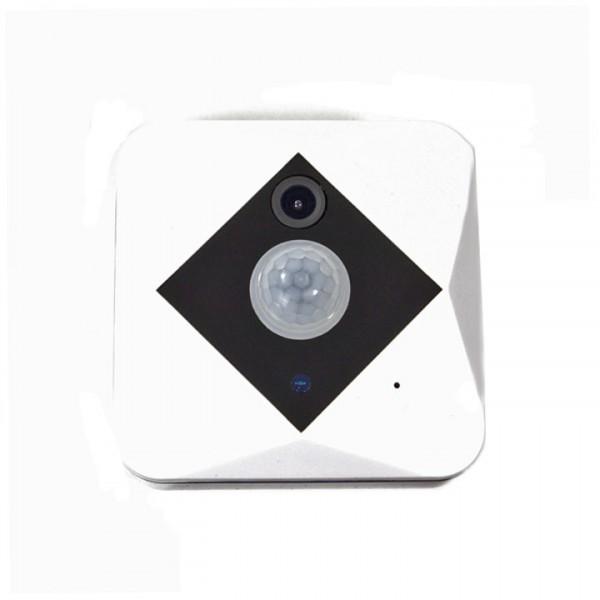 Akkubetriebene WLAN HD Überwachungskamera mit hoher Standby-Laufzeit, Weitwinkel und Bewegungssensor