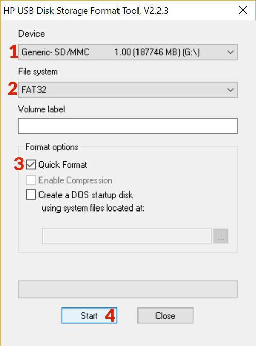 Sd Karte Formatieren Fat32.Speicherkarten Richtig In Fat32 Formatieren Online Günstig Kaufen