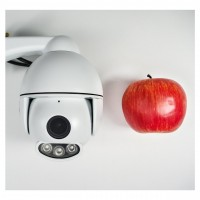 1080p PTZ Überwachungskamera mit sehr starker Nachtsicht als wetterfeste Outdoor-IP-Kamera