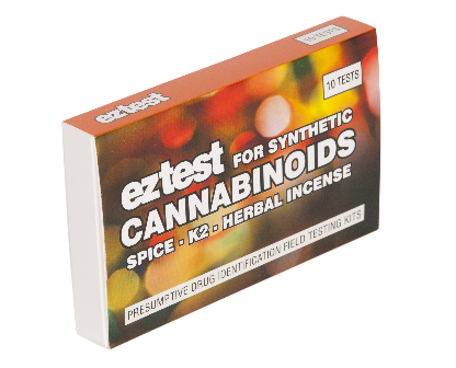 EZ Test Kit für synthetische Cannabinoide, testet auf Spice, K2 & andere herbal incenses