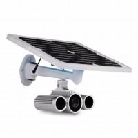 4G LTE Überwachungskamera mit Solarzelle und Akku - Outdoor UMTS-LTE-IP-Kamera mit MicroSD-Speicher