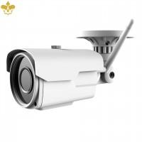 5 MP Outdoor WLAN Überwachungskamera mit optischem Zoom und Zugriff per PC, Smartphone, Tablet