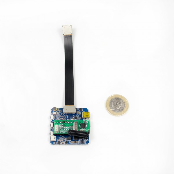 Hochauflösende 4K Mini Kamera mit WLAN und Fernbedienung