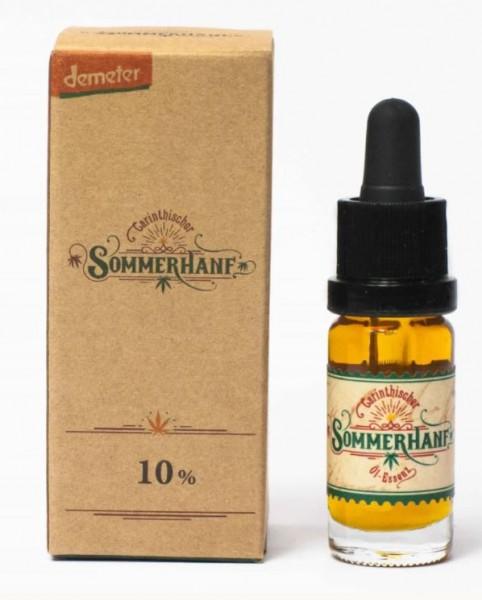 Sommerhanf Vollspektrumaromaöl 10% 10ml CBD 1000mg