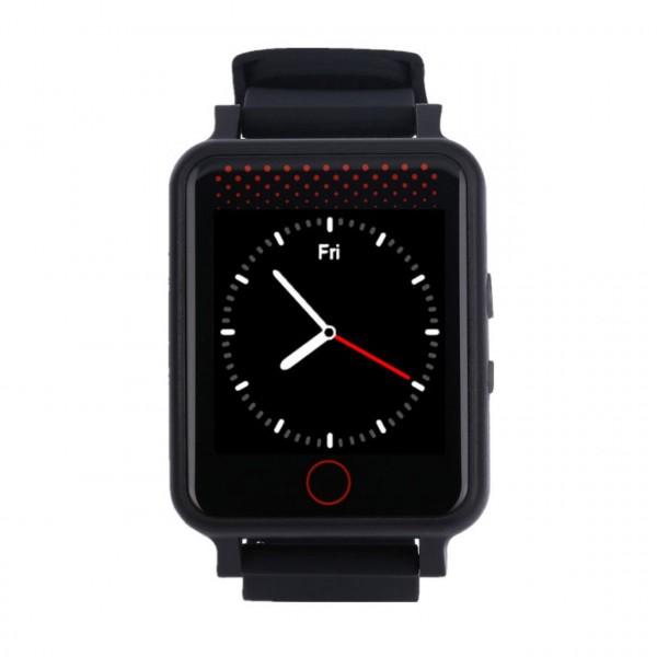 GPS Armbanduhr mit SOS-Anruf - Notfalluhr für hilfebedürftige Personen / GPS Uhr mit Notfall-Taste
