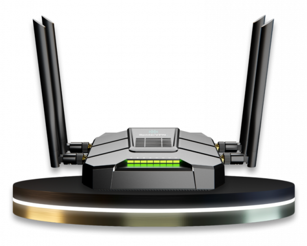 SpiderConnect PRO-Router, Privacy & Security, Unblocks Blocked Websites
