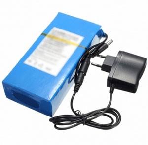 Kleiner kompakter 12V Li-Ion Akku mit 12.000 mAh für Überwachungskameras, Spionagekameras, etc.