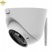 Wetterfeste 4 MP WLAN Dome Überwachungskamera mit MicroSD-Speicher und optischem Zoom