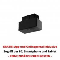 OBD2 GPS Tracker mit Bewegungsalarm als GPS GSM Peilsender mit Onlinezugriff per PC und Smartphone
