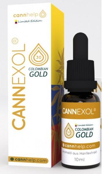 CANNEXOL Colombian Gold 30% CBD 3000mg 10ml