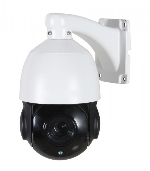 4 MP PTZ IP-Kamera mit Schwenken, Neigen, 10-fach optischem Zoomen und starker Nachtsicht