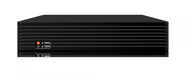 64 Kanal H.265 Netzwerkrekorder für 4K-IP-Kameras mit enormer Speichergröße und vielen Anschlüssen