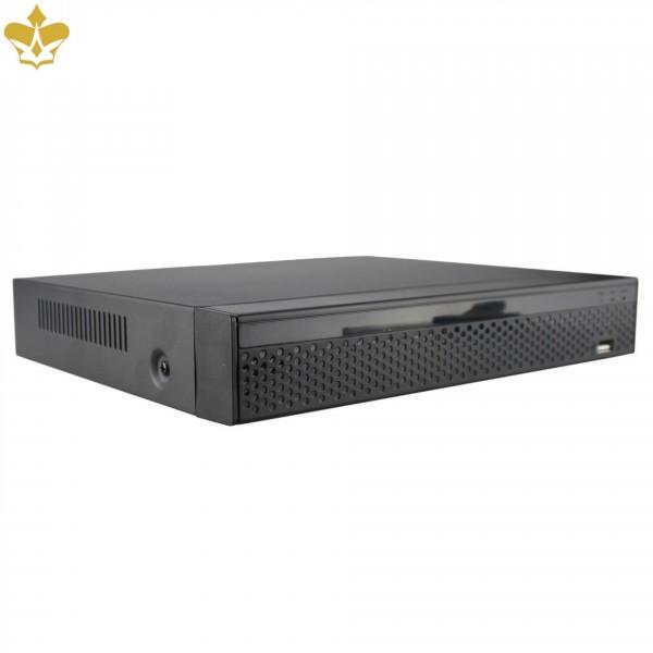 16 Kanal Netzwerkrekorder für 4K Auflösungen mit H.265 und Zugriff per Smartphone, Tablet und PC